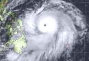 Supertaifun vor den Philippinen