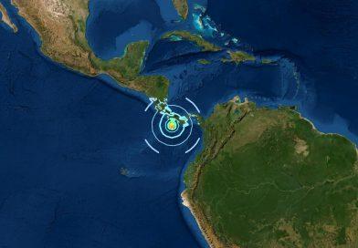 Schweres Erdbeben vor Panama und Costa Rica