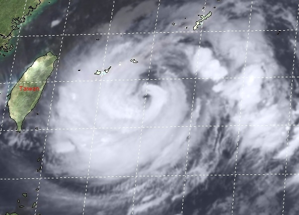 Taifun IN-FA bedroht China