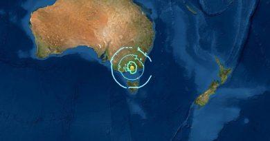 Ungewöhnlich starkes Erdbeben in Australien