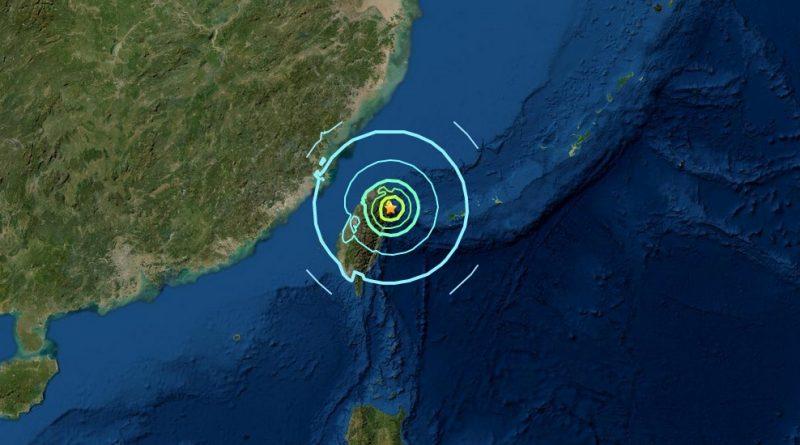 Schweres Erdbeben auf Taiwan